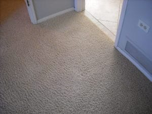 carpet repair before