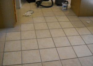 tile and grout repair after