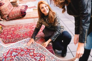 how to keep your area rugs clean