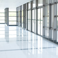 image of clean tile flooring in a commercial building