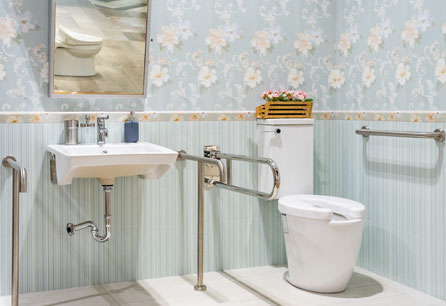 Commercial Cleaning & Restoration | Elderly Bathroom