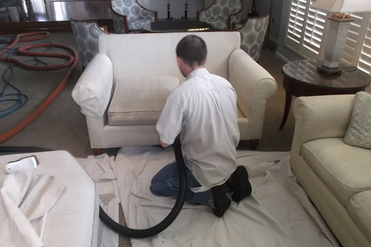 Commercial Cleaning & Restoration | Upholstery Cleaning to prevent allergies