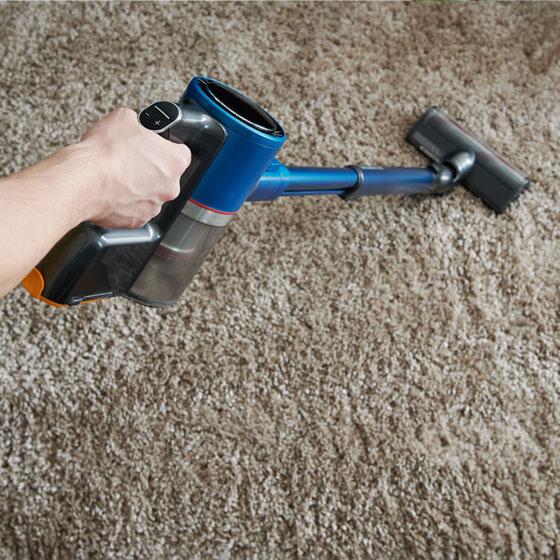 vacuum carpets
